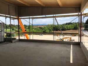 KLVrent Technik- und Servicepark - Ausblick von Innen