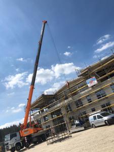KLVrent Technik- und Servicepark Fassadenarbeiten
