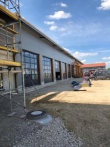 KLVrent Technik- und Servicepark - Halle von aussen