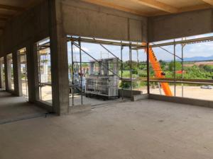 KLVrent Technik- und Servicepark - Servicegebäude von Innen