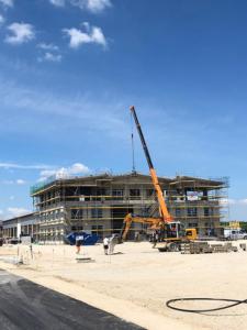 KLVrent Technik- und Servicepark - Servicegebäude von vorne