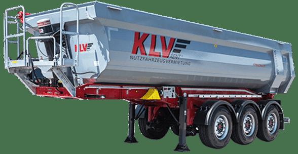 Alu-Kippauflieger mit 24 oder 50 m³