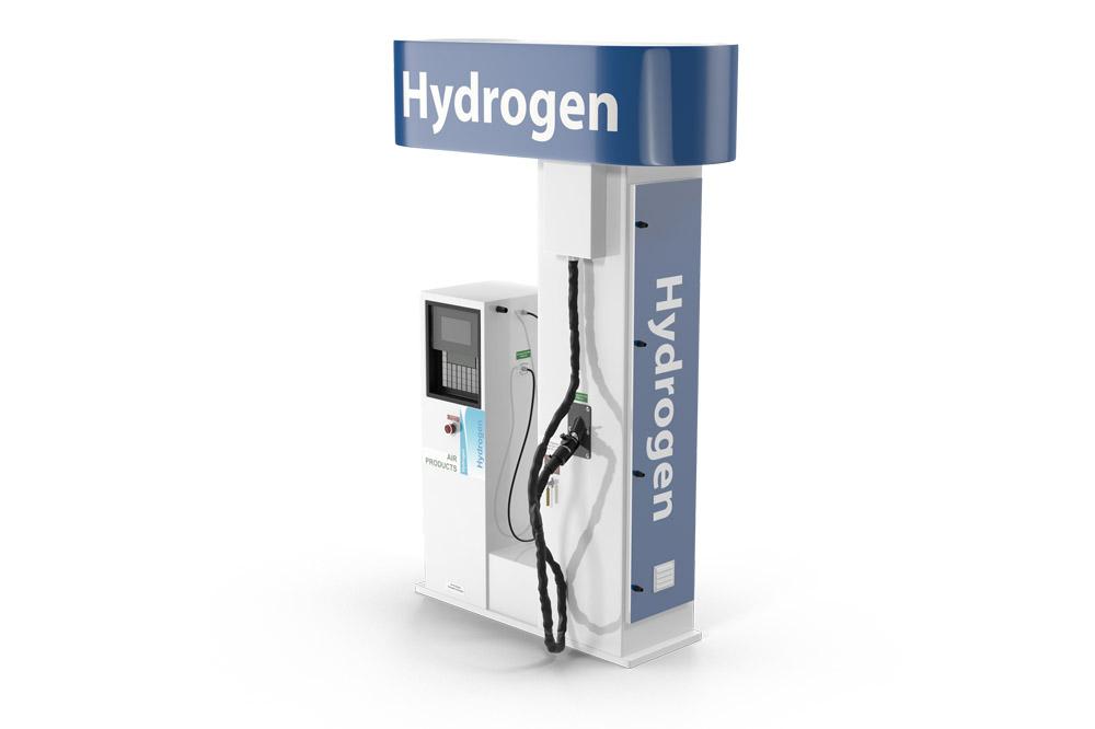 Wasserstoffantrieb für Nutzfahrzeuge
