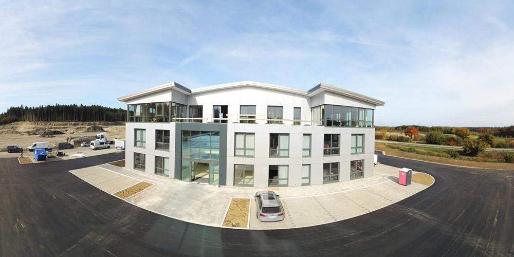 Der neue Technik- und Servicepark von KLVrent ist eröffnet