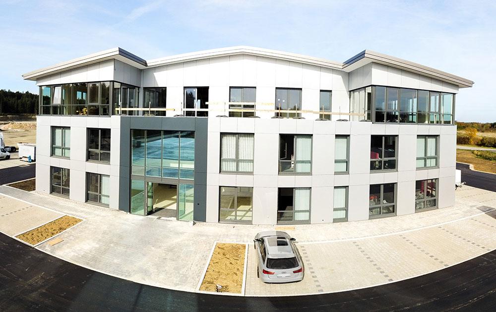 KLVrent Nutzfahrzeugvermietung - Neubau am Standort Nußdorf