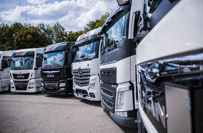 Einbruch bei den Herstellern für schwere Nutzfahrzeuge