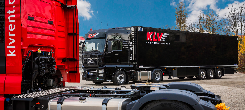 KLV-Koffersattelauflieger