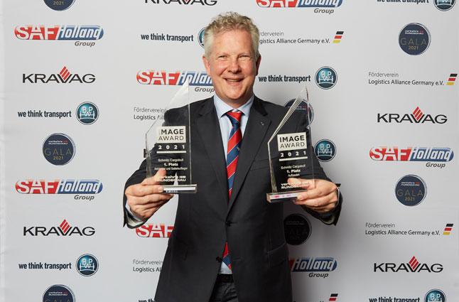 Schmitz Cargobull gewinnt Image Award