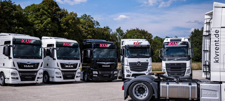 KLV-Sattelzugmaschine LKW in München mieten